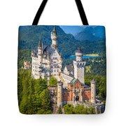 Neuschwanstein Fairytale Castle Tote Bag