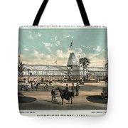 New Orleans, Fair, 1884.  Tote Bag