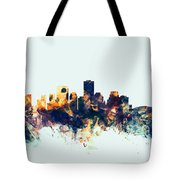 New Orleans Louisiana Skyline Tote Bag
