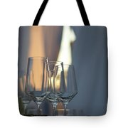 Party Setting With Bokeh Background Tote Bag