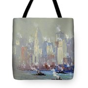 Pennell, New York City.  Tote Bag