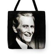 Peter Cushing, Vintage Actor Tote Bag