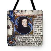 Petrarch (1304-1374) Tote Bag