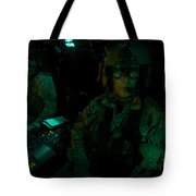 Pilots Equipped With Night Vision Tote Bag