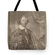 Portrait Of A Seated Man Tote Bag