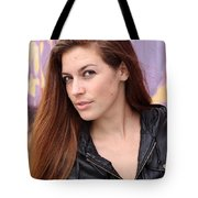 Portrait Of A Young Woman Tote Bag