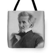 President Andrew Jackson  Tote Bag by War Is Hell Store