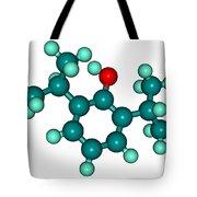 Propofol Diprivan Molecular Model Tote Bag
