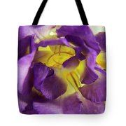 Purple Freesia Tote Bag