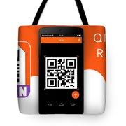 Qr Code Reader Tote Bag