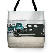 Quarter Mile  Tote Bag