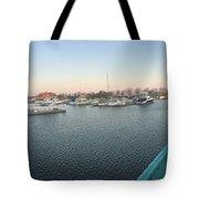 Racine Harbor Wisconsin Tote Bag