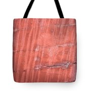 Red Metal  Tote Bag