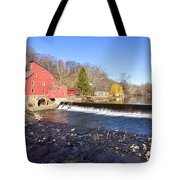 Red Mill Tote Bag
