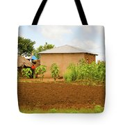 Rural Landscape In Tanzania Tote Bag