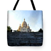 Sacre Coeur Tote Bag by Riad Belhimer