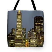 San Francisco Ca Tote Bag