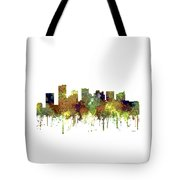 Scottsdale Arizona Skyline Tote Bag