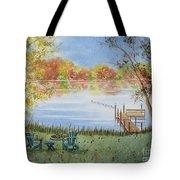 4 Seasons-autumn Tote Bag