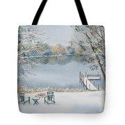 4 Seasons-winter Tote Bag
