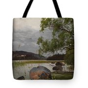 Shore Landscape Tote Bag