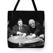 Silent Film Still: Gambling Tote Bag