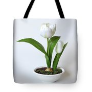 Silk Flower Tote Bag