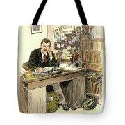 Sir Arthur Conan Doyle Tote Bag