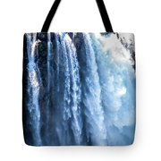 Snoqualmie Falls Washington State Nature In Daylight Tote Bag