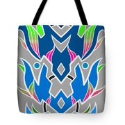 4 Space Ship Formation Tote Bag