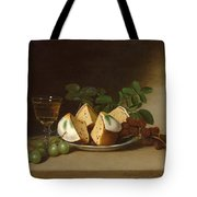 Still Life With Cake Tote Bag