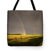 Storm Clouds Prairie Sky Tote Bag
