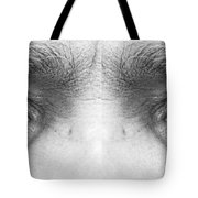 Stormy Angry Eyes Tote Bag
