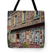 Street Scenes From Giverny France Tote Bag