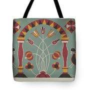 """Study For Proposed Portfolio """"decorated Chests Of Rural Pennsylvania"""" Tote Bag"""