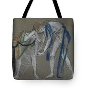 Study Of Two Dancers Tote Bag