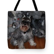 Stuffed Animals Tote Bag
