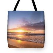 Sunrise Seascape At The Beach Tote Bag