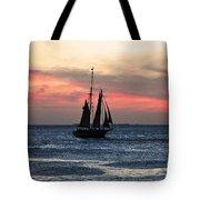 Sunset Key West  Tote Bag