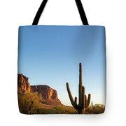 Superstition  Mountains Arizona Tote Bag