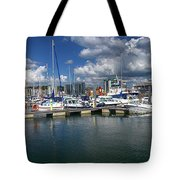 Sutton Harbour Plymouth Tote Bag
