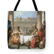 The Banquet Of Cleopatra Tote Bag