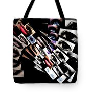 The Broadcast Monkey Tote Bag