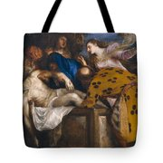 The Burial Of Christ Tote Bag