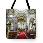 The Historical Mexico City Metropolitan Cathedral Tote Bag