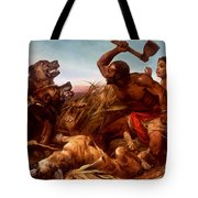 The Hunted Slaves Tote Bag