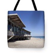 The Ocean Grill At Vero Beach In Florida Tote Bag