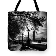 The River Thames Path Tote Bag