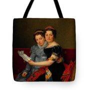 The Sisters Zenaide And Charlotte Bonaparte Tote Bag