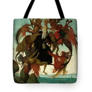 The Torment Of Saint Anthony Tote Bag